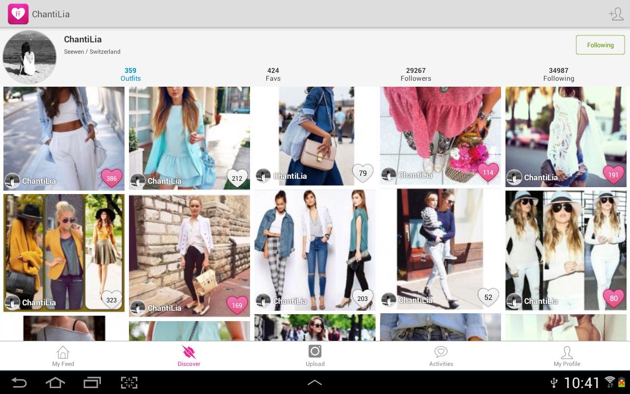 Fashion Freax Street Style App - screenshot