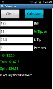 Tip Calculator screenshot 0