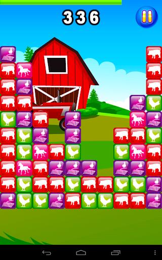Pig Farm Brick Pet Fall Frenzy