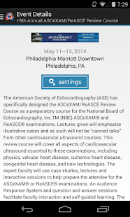 ASE Live Educational Courses- screenshot thumbnail