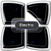 Electro Next Launcher 3D Theme