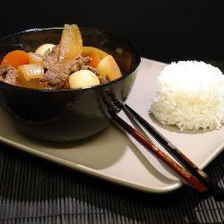 Nikujaga: Japanese Stewed Meat and Potatoes Cooked in a Thermal Slow Cooker Recipe