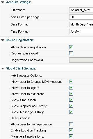 3CX Mobile Device Manager - screenshot
