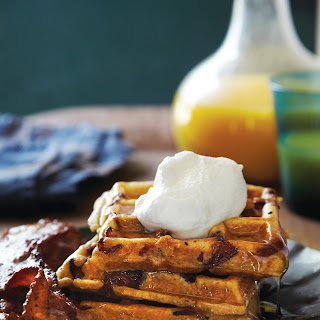 Bacon-and-Bourbon Waffles