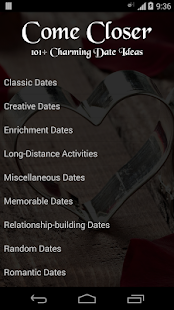 101+ Charming Date Ideas- screenshot thumbnail