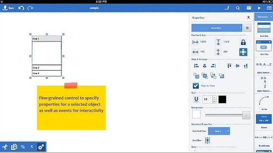Mockups.me Wireframes - lite- screenshot thumbnail