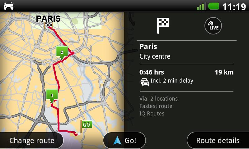 TomTom France - screenshot