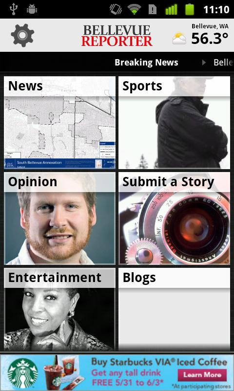 Bellevue Reporter - screenshot