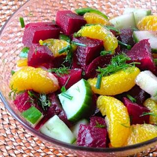Fresh Beet And Cucumber Salad Recipes.