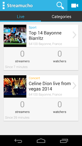 KaliStream Live streaming app