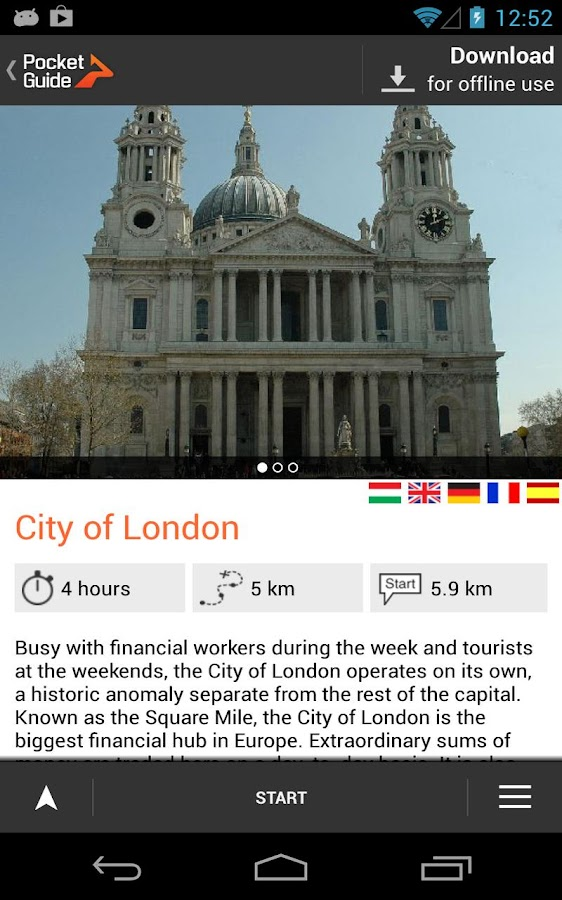 London - screenshot