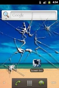 Screen breaker