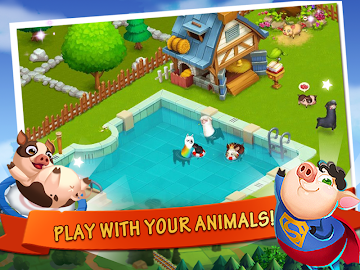 Happy Farm:Candy Day Screenshot 11