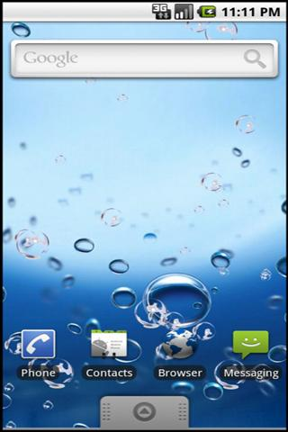Bubble Up Live Wallpaper - screenshot