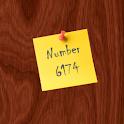 Number 6174 logo