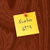 Number 6174