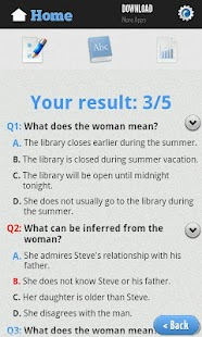 English Reading Test - screenshot thumbnail