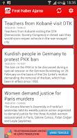 Screenshot of Firat News Agency
