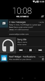 NotiWidget - Notifications Screenshot 6