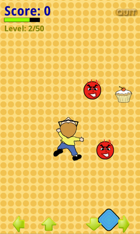 Dodgeball Terror Touch- screenshot