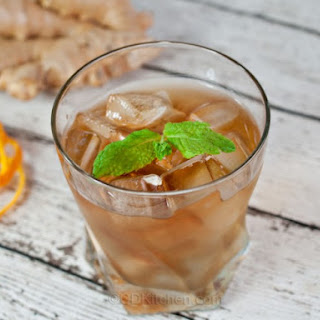 Ginger Mint Iced Tea