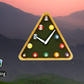 snooker clock widget