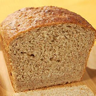 Mustard Rye Sandwich Bread