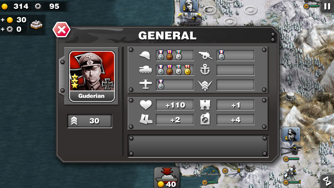 Glory of Generals - screenshot