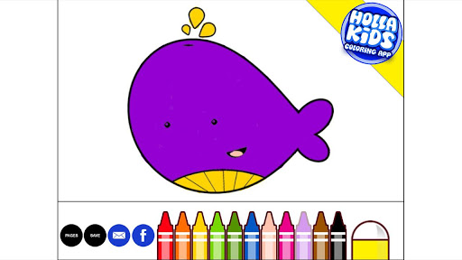 Holla Kids Coloring Book