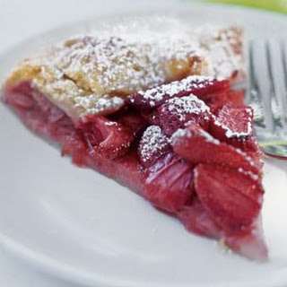 Strawberry Galette with Crème Fraîche