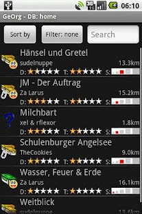 GeOrg - Geocaching Organizer - screenshot thumbnail