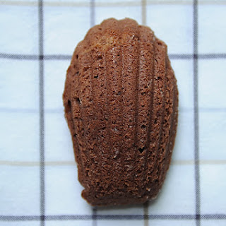 Chocolate Orange Madeleine Cookies
