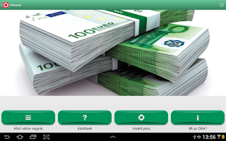 Screenshot of OBA Betétőr