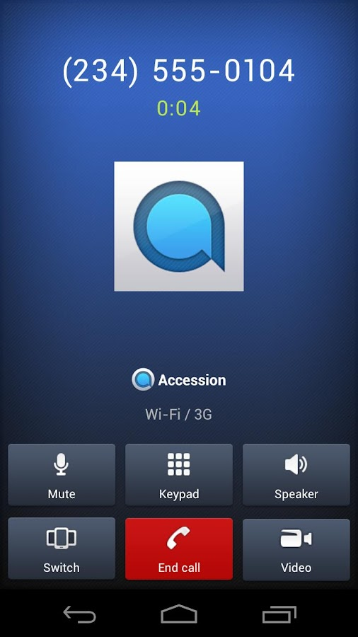 Accession Communicator- screenshot