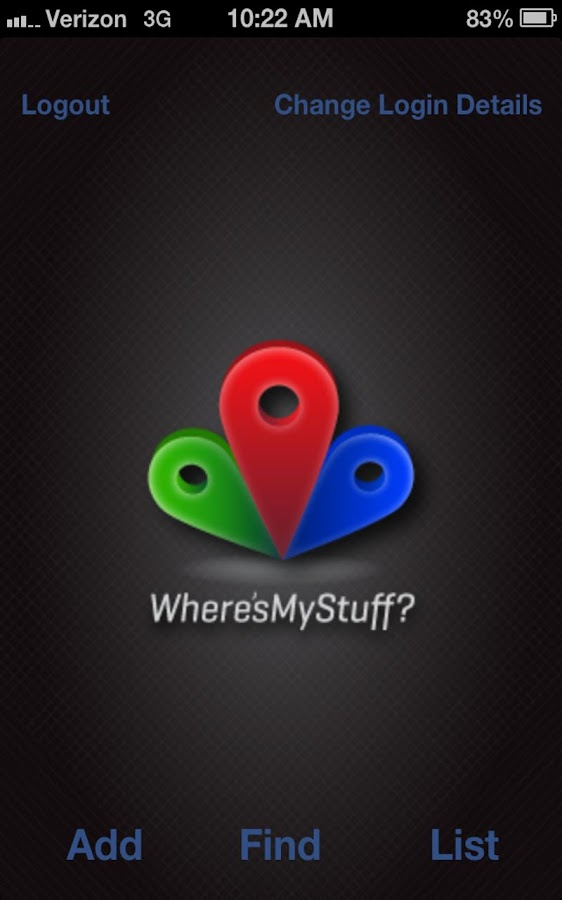 Where's My Stuff?- screenshot