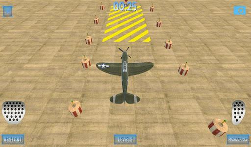 Military Plane Parking