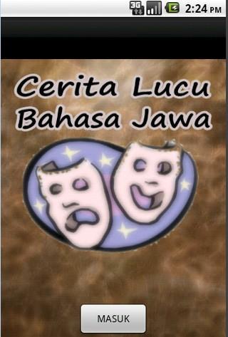 Cerita Lucu Bahasa Jawa - screenshot