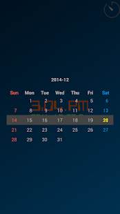 ClockView (Always On Clock) - screenshot thumbnail