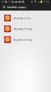 Stumbler Legacy Apps