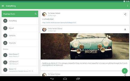Pushbullet Screenshot 1