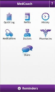 MedCoach Medication Reminder screenshot for Android