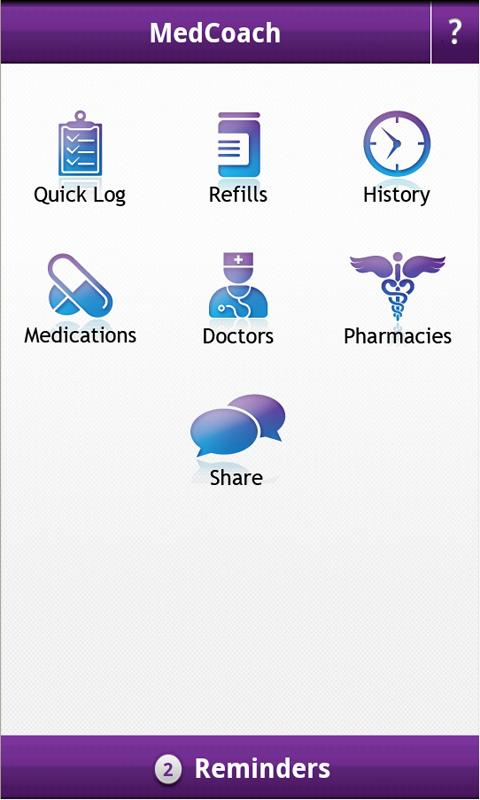 MedCoach Medication Reminder- screenshot