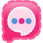 Easy SMS Pink Camera theme