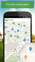 Screenshot of Parker, Find available parking