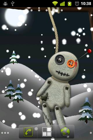 Voodoo Winter Live Wallpaper - screenshot