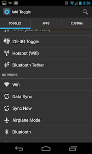 Power Toggles - screenshot thumbnail
