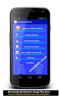 Password Safe Pro-Discontinued- screenshot thumbnail