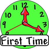 First Time (Clock for kids)