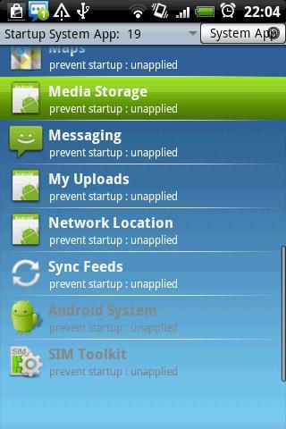 Startup Cleaner 2.0 - screenshot