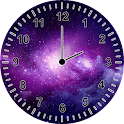 Galaxy Clock Widget icon